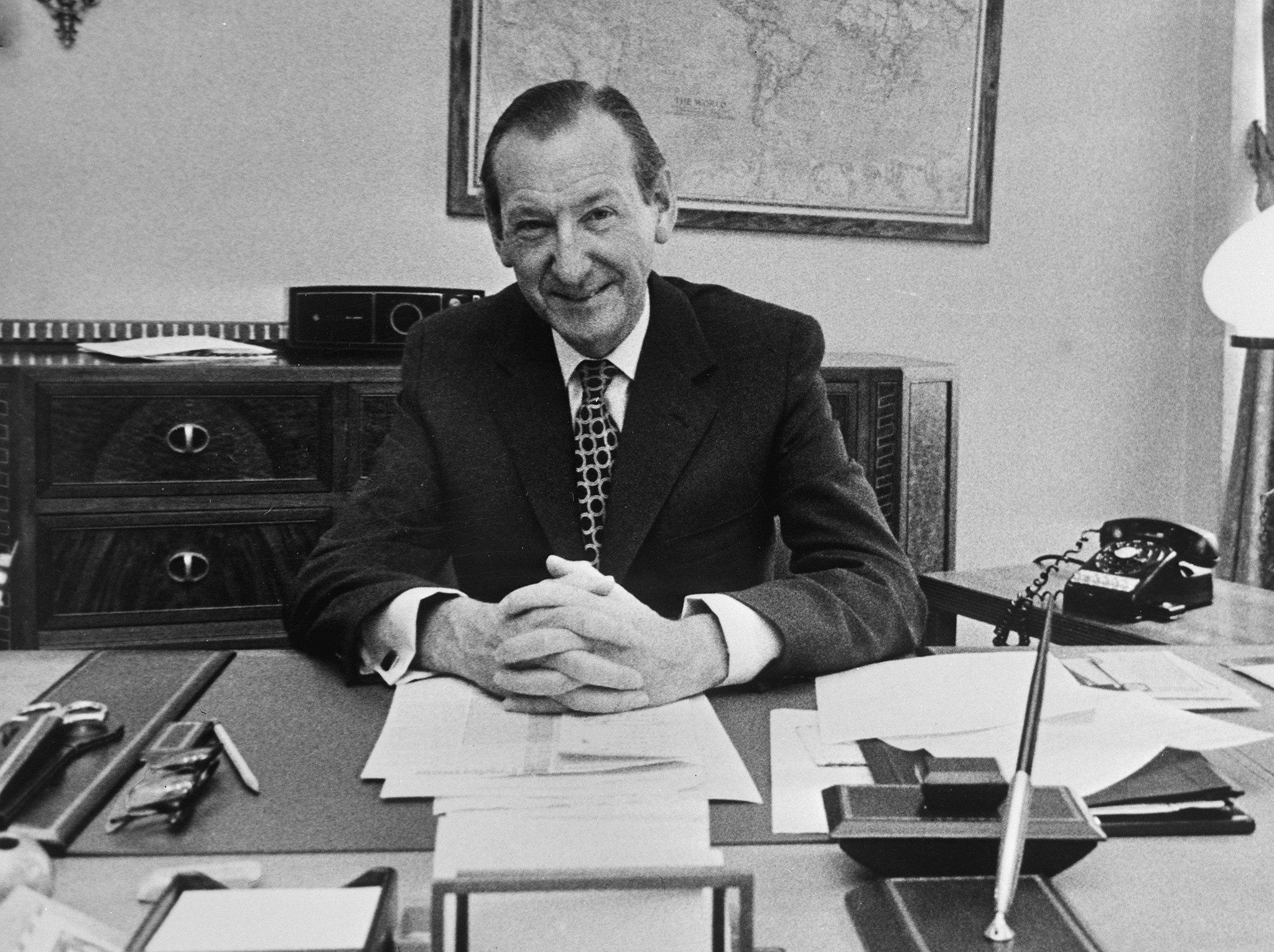 Kurt Waldheim, alors secrétaire général de l'ONU, en décembre 1971
